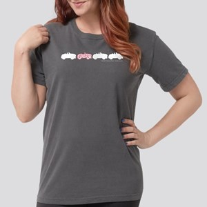 Grease Cars Womens Comfort Colors Shirt