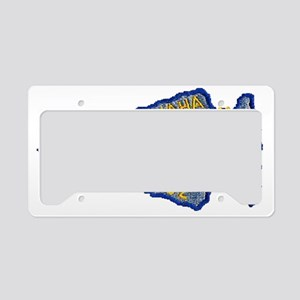omaha patch License Plate Holder