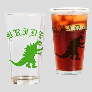 bridezilla Drinking Glass