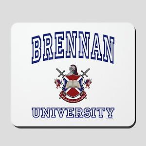 BRENNAN University Mousepad