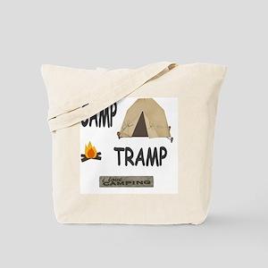camp tramp 11x11 Tote Bag