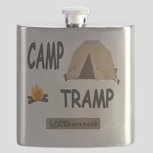 camp tramp 11x11 Flask