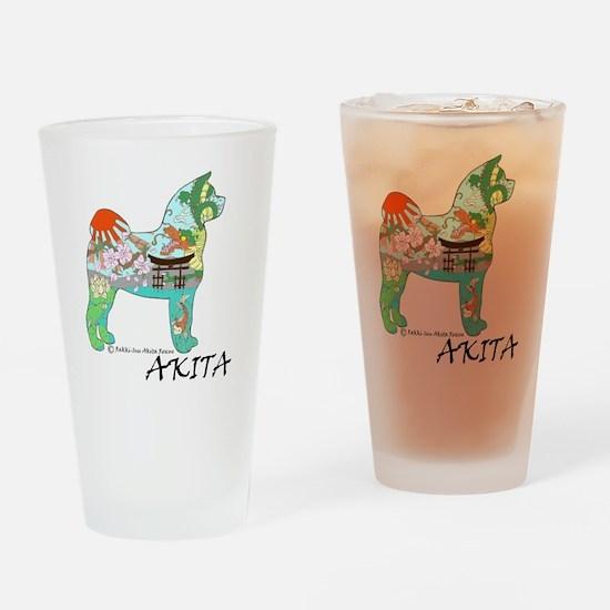 Akita national treasure Drinking Glass