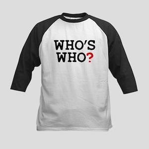 WHOS WHO Baseball Jersey