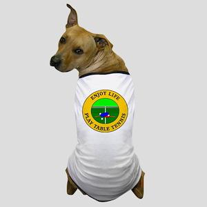 table tennis3 Dog T-Shirt