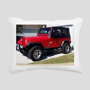Jeep 3 2010 002 Rectangular Canvas Pillow