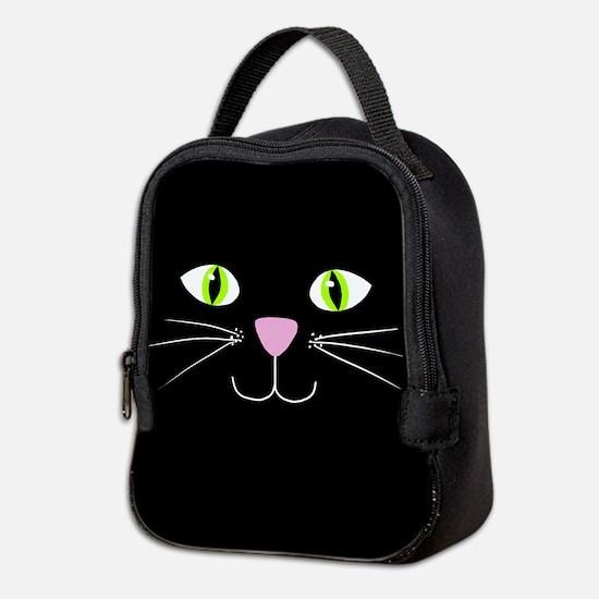 'Black Cat' Neoprene Lunch Bag