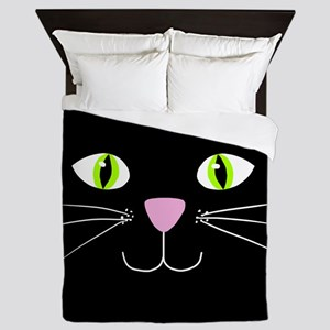 'Black Cat' Queen Duvet