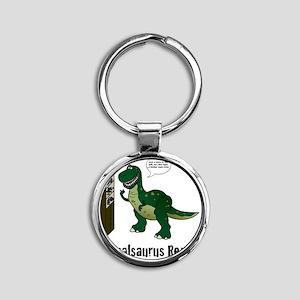 rex Round Keychain