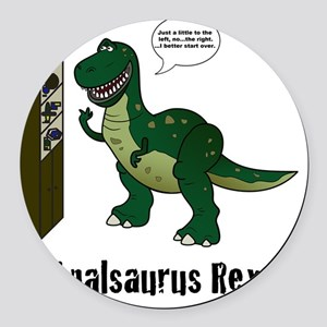 rex Round Car Magnet