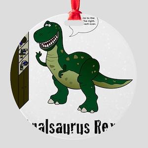 rex Round Ornament