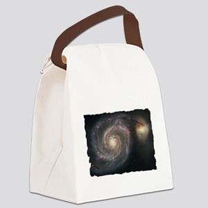 Cosmos T-Shirt-Dark Canvas Lunch Bag