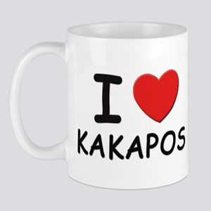 I love kakapos Mug