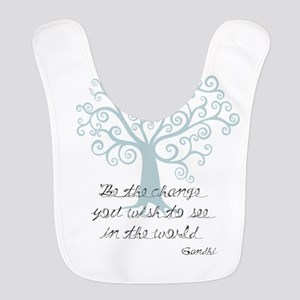 Be The Change Tree Bib
