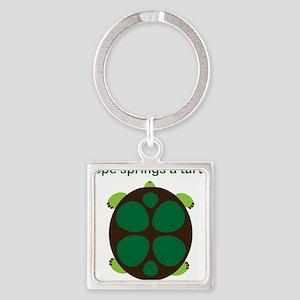 turtle Square Keychain