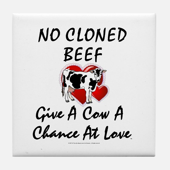 Cow Chance Tile Coaster
