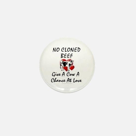Cow Chance Mini Button