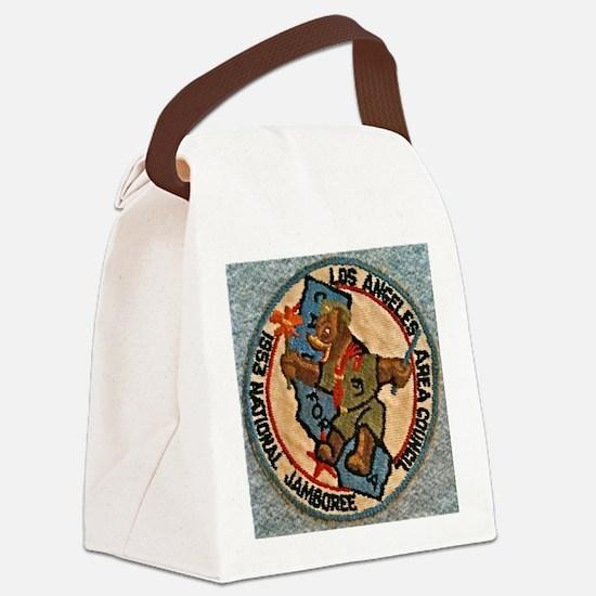 1953 National Jamboree BSA Canvas Lunch Bag