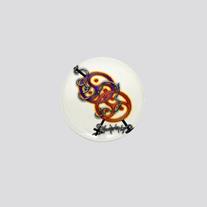 mff flame Mini Button