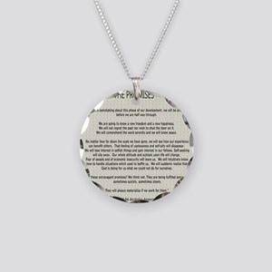 !4343 Necklace Circle Charm