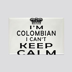 I Am Colombian I Can Not Keep Calm Rectangle Magne
