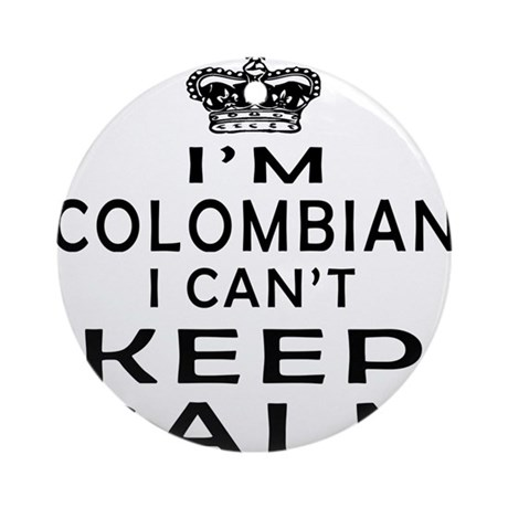 I am colombian