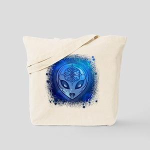 Blue Alien Dream Tote Bag