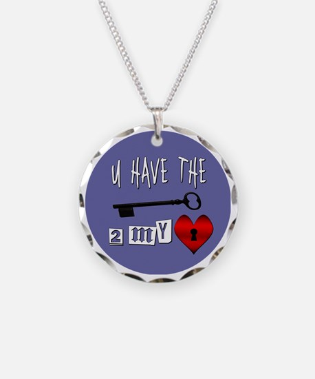 You Have the Key to my Heart Necklace
