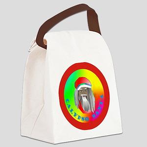 Calypso Santa Canvas Lunch Bag