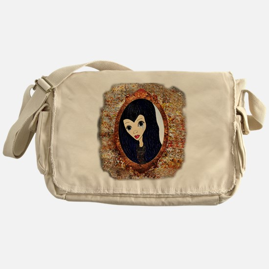 Siouxsie Trapped in a Mirror Messenger Bag