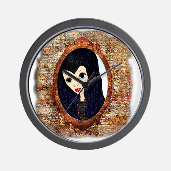 Siouxsie Trapped in a Mirror Wall Clock