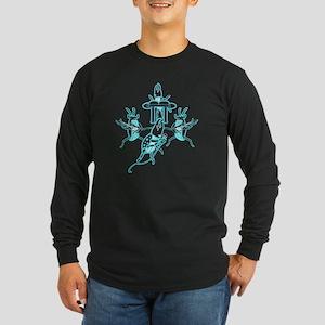 Beetles Rock Band Long Sleeve Dark T-Shirt