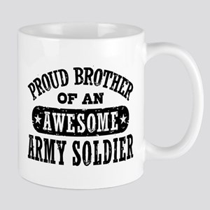 Proud Army Brother Mug