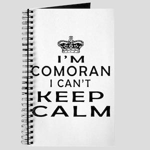 I Am Comoran I Can Not Keep Calm Journal