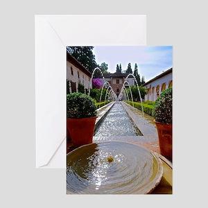 Alhambra in Granada Greeting Card