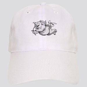 Flying Cupid Pig Valentine's Day Cap