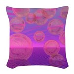 In the Zone Abstract Woven Throw Pillow