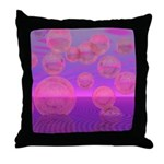 In the Zone Abstract Throw Pillow