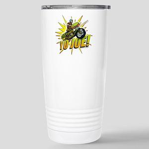 G.I. Joe YO Joe 16 oz Stainless Steel Travel Mug