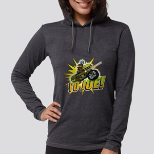 G.I. Joe YO Joe Womens Hooded Shirt