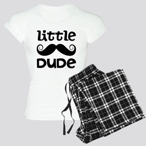 Mustache Little Dude Women's Light Pajamas
