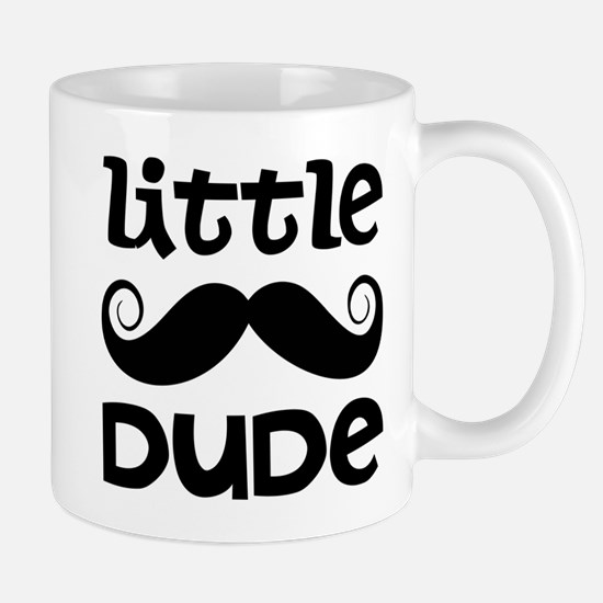 Mustache Little Dude Mug