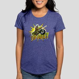 G.I. Joe YO Joe Womens Tri-blend T-Shirt