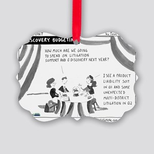 eDiscovery Budgeting Picture Ornament
