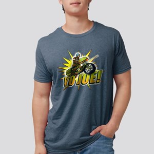 G.I. Joe YO Joe Mens Tri-blend T-Shirt