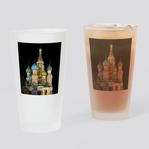 St. Basil Cathedral Moscow Drinking Glass