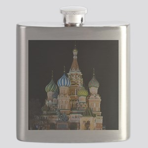 St. Basil Cathedral Moscow Flask