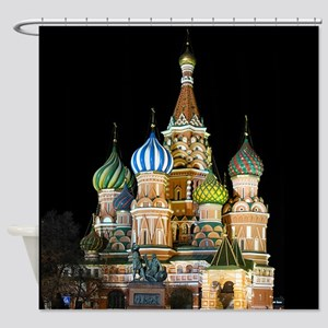 St. Basil Cathedral Moscow Shower Curtain