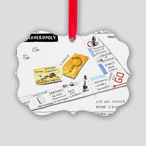 eDiscoveropoly Picture Ornament