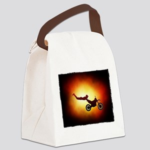 Superman seat grab 2 Canvas Lunch Bag